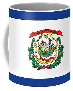 State Flag Of West Virginia Coffee Mug