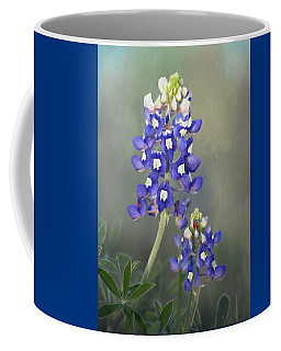 Coffee Mug featuring the photograph State Flower Of Texas by David and Carol Kelly