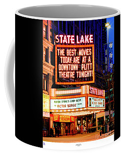State-lake Theater Coffee Mug