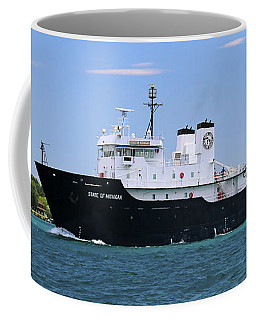 State Of Michigan Training Vessel Coffee Mug
