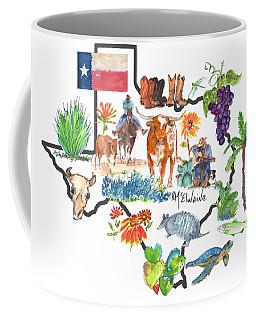 State Of Texas As I Know It Coffee Mug