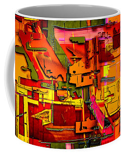 Industrial Autumn Coffee Mug by Don Gradner