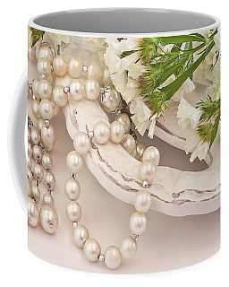 Statice And Beads  Coffee Mug