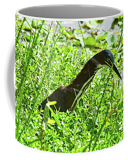 Coffee Mug featuring the photograph Statue In Real Life by Sally Sperry