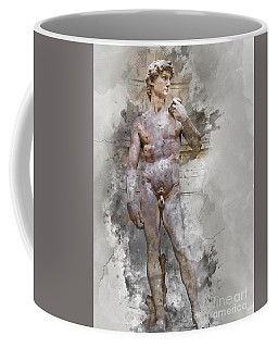 Statue Of David Coffee Mug