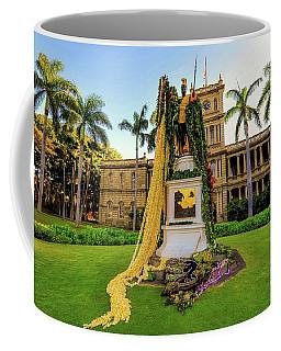 Statue Of, King Kamehameha The Great Coffee Mug
