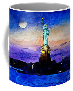 Statue Of Liberty New York Coffee Mug