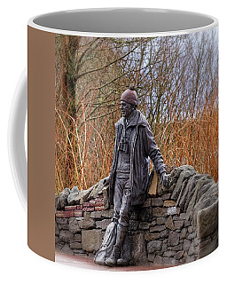 Statue Of Tom Weir Coffee Mug