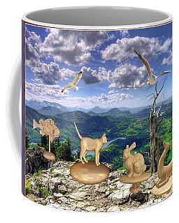 Statues Of The Rock Coffee Mug