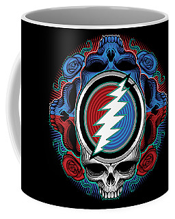 Steal Your Face - Ilustration Coffee Mug
