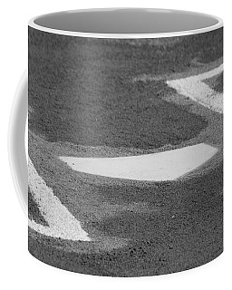 Coffee Mug featuring the photograph Stealing Home by Laddie Halupa