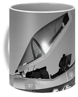 Stealth Office - 2017 Christopher Buff, Www.aviationbuff.com Coffee Mug