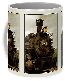 Steam Engine Coffee Mug by Krista-