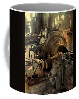 Coffee Mug featuring the digital art Steam Engine No 4 by Robert G Kernodle