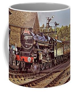 Steam Loco On Yorkshire Railway Coffee Mug