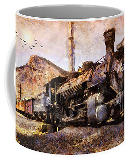 Steam Locomotive Coffee Mug by Ian Mitchell
