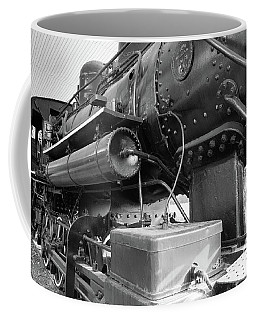 Steam Locomotive Side View Coffee Mug
