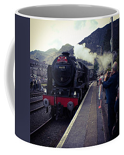 Steam Train, Ffestiniog, North Wales Coffee Mug