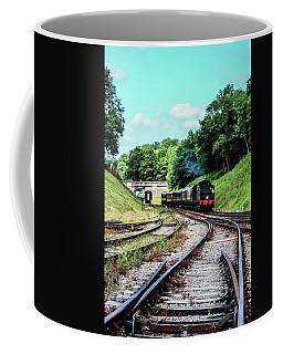 Steam Train Nr The Bridge Coffee Mug