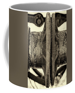 Coffee Mug featuring the photograph Steam Train Series No 31 by Clare Bambers