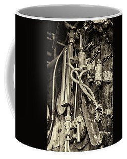 Coffee Mug featuring the photograph Steam Train Series No 36 by Clare Bambers