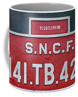 Coffee Mug featuring the photograph Steam Train Series No 38 by Clare Bambers