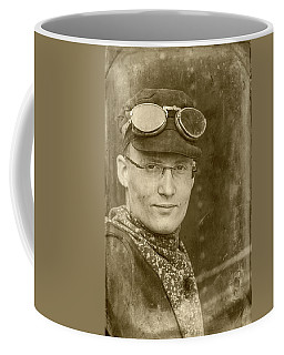 Coffee Mug featuring the photograph Steam Train Series No 39 by Clare Bambers