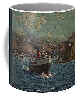 Steamer Leaving Avalon. Catalina Island Coffee Mug