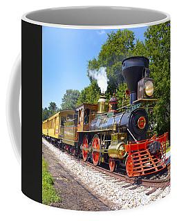Steaming Into History Coffee Mug