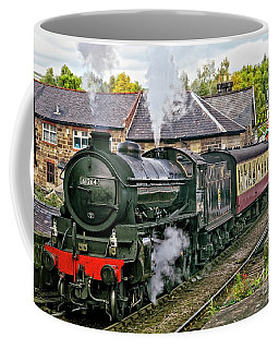 Steaming Out Of Grosmont Station Coffee Mug