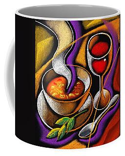Steaming Supper Coffee Mug