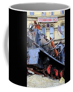Coffee Mug featuring the photograph Steampunk Hq by Nareeta Martin