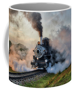 Steamy Departure Coffee Mug