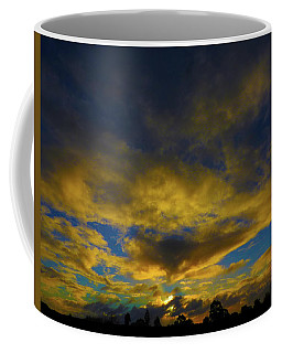 Coffee Mug featuring the photograph Steamy Sunset by Mark Blauhoefer
