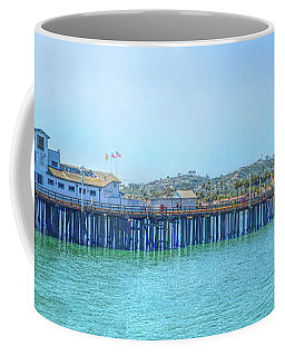 Stearns Wharf Coffee Mug