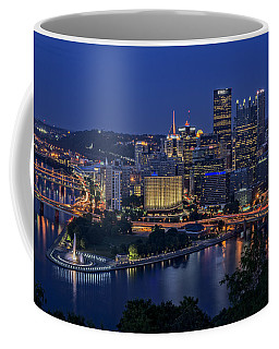Steel City Glow Coffee Mug