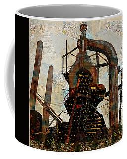 Steel Stacks Squared Coffee Mug