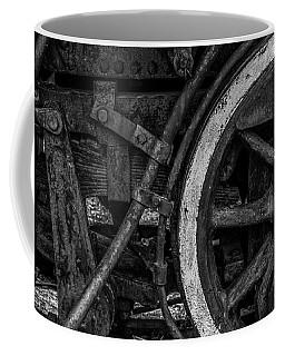 Steel Wheels In Monochrome Coffee Mug