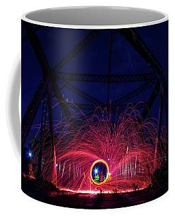 Steel Wool Spinner Coffee Mug