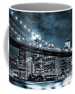 Steely Skyline Coffee Mug