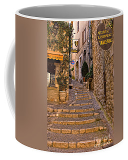 Steep Street In St Paul De Vence Coffee Mug