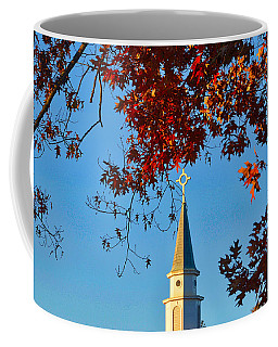 Steeple Coffee Mug by Linda Brown