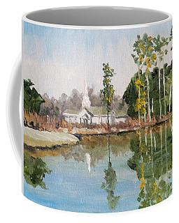 Steeple Reflection Coffee Mug by Jim Phillips