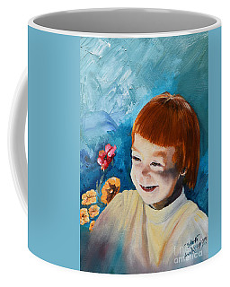 Stefi- My Trip To Holland - Red Headed Angel Coffee Mug