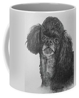 Coffee Mug featuring the drawing Stella by Rachel Hames