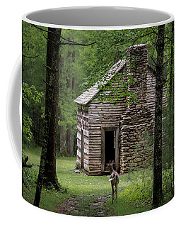 Coffee Mug featuring the photograph Step Back In Time by Andrea Silies