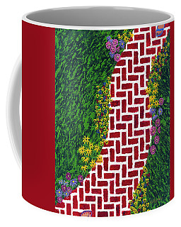 Step Into My Garden Coffee Mug