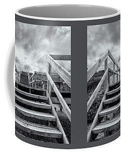 Coffee Mug featuring the photograph Step On Up by Linda Lees