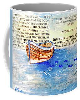 Step Out  Ripple Effect Coffee Mug