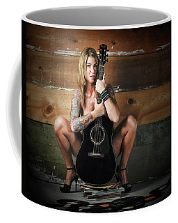 Stephanie W/guitar Coffee Mug